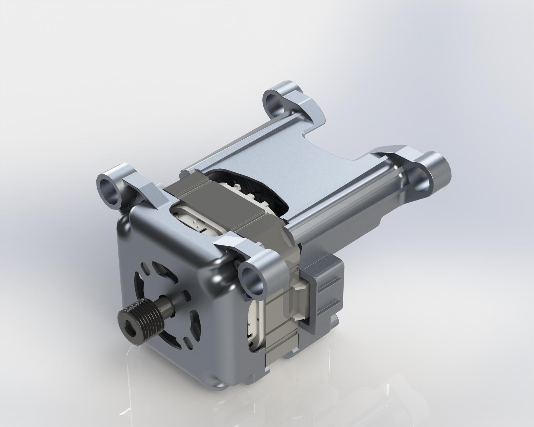 Washing machine motor_BLDC/PMSM motor_Spoke