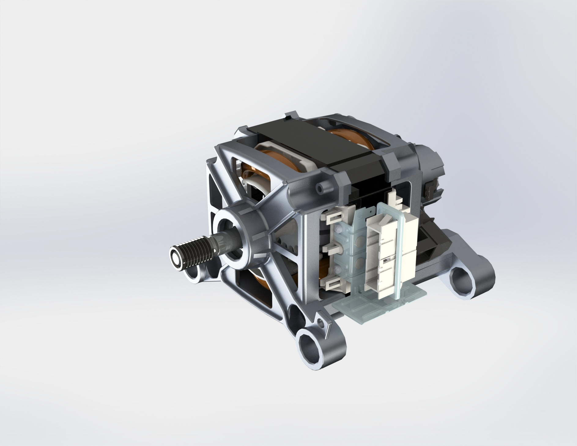 Washing machine motor_Universal motor