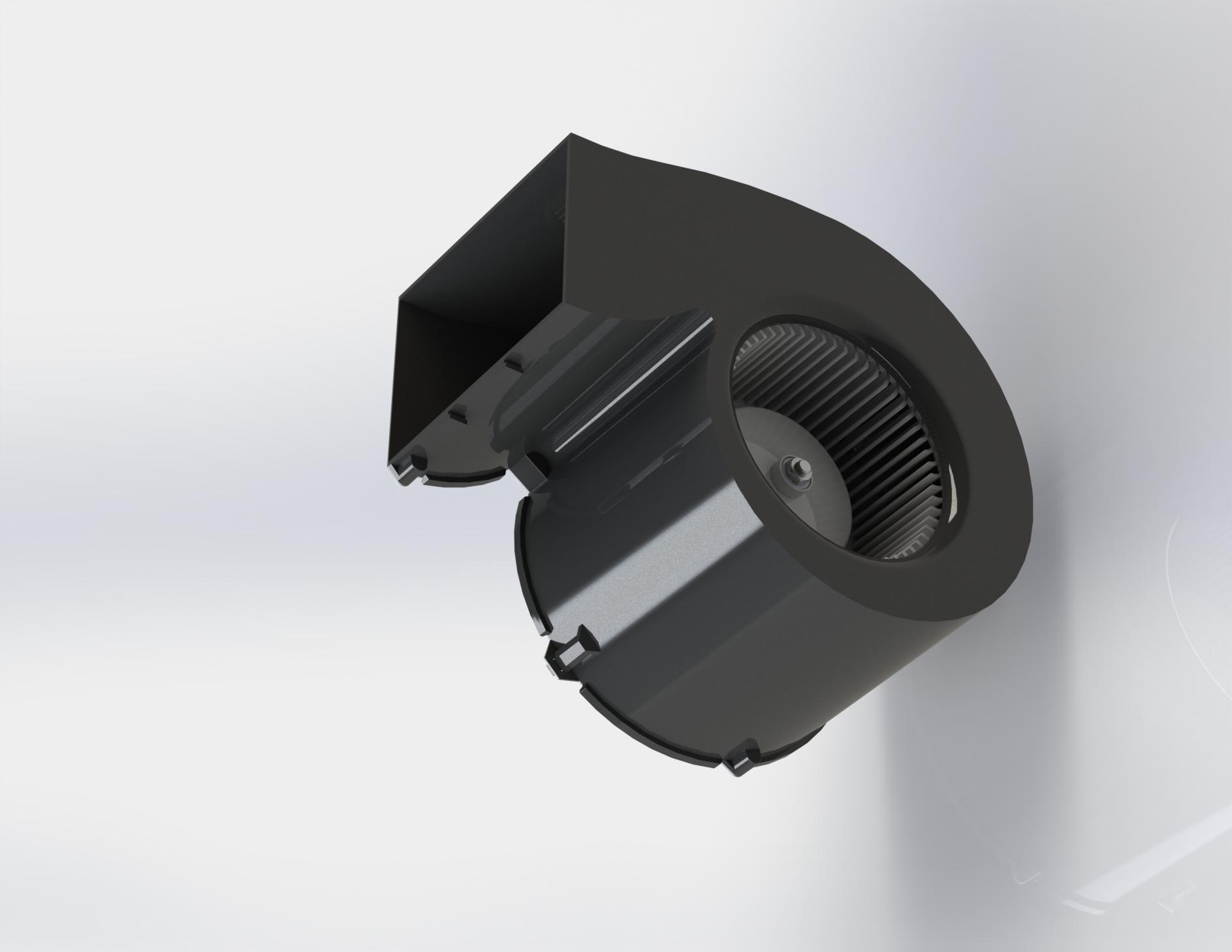 Ventilation blower_BLDC/PMSM motor