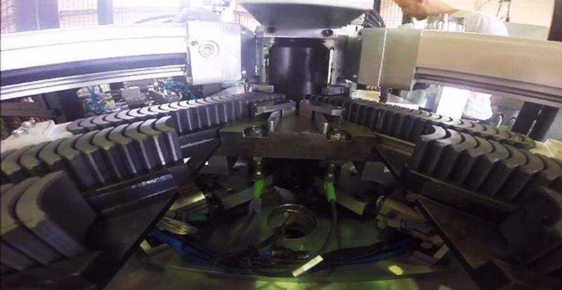 BLDC rotor prodution line